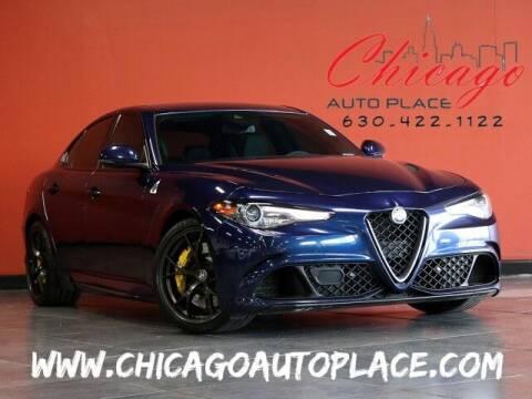 2017 Alfa Romeo Giulia Quadrifoglio for sale at Chicago Auto Place in Bensenville IL