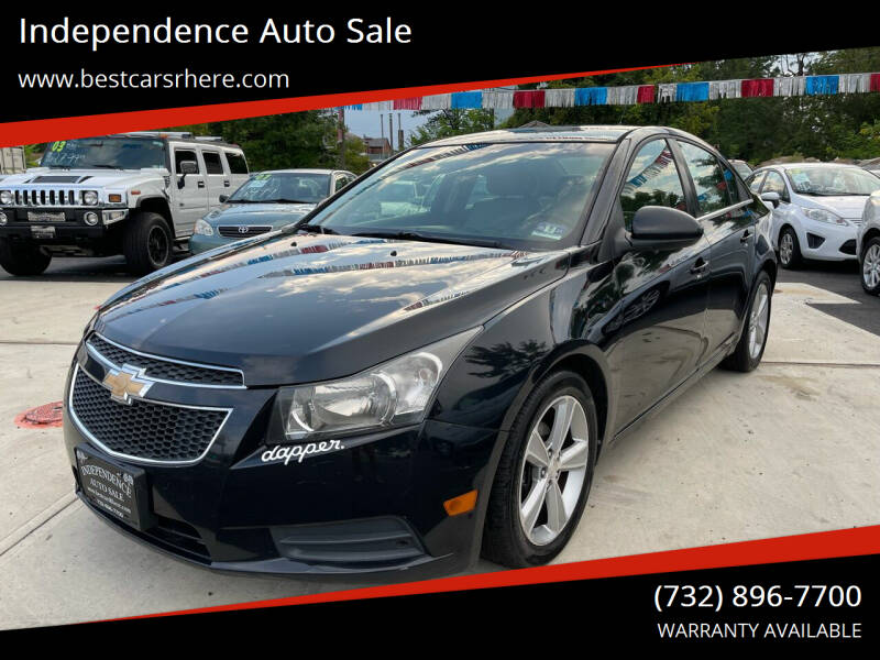 2012 Chevrolet Cruze for sale at Independence Auto Sale in Bordentown NJ