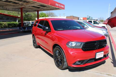 2015 Dodge Durango for sale at KD Motors in Lubbock TX