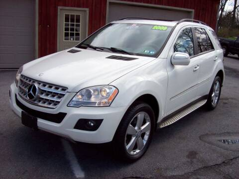 2009 Mercedes-Benz M-Class for sale at Clift Auto Sales in Annville PA