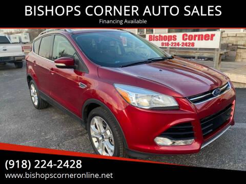 2016 Ford Escape for sale at BISHOPS CORNER AUTO SALES in Sapulpa OK