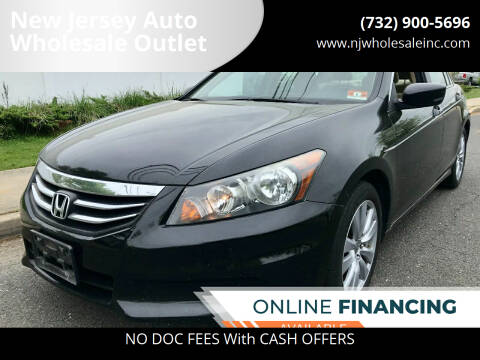 2011 Honda Accord for sale at New Jersey Auto Wholesale Outlet in Union Beach NJ