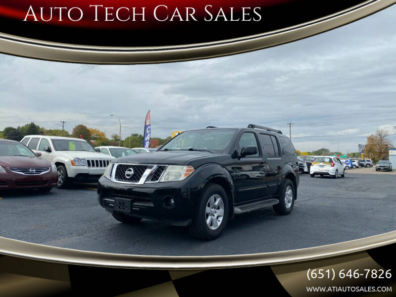 2011 Nissan Pathfinder for sale at Auto Tech Car Sales in Saint Paul MN