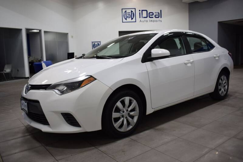 2015 Toyota Corolla for sale at iDeal Auto Imports in Eden Prairie MN