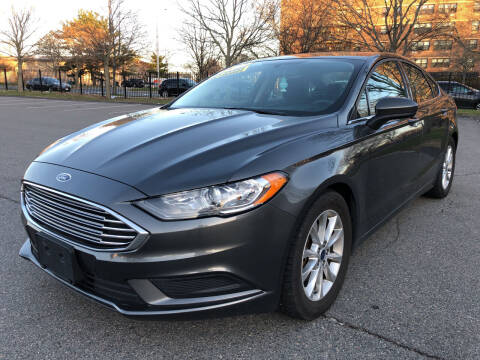 2017 Ford Fusion for sale at Commercial Street Auto Sales in Lynn MA