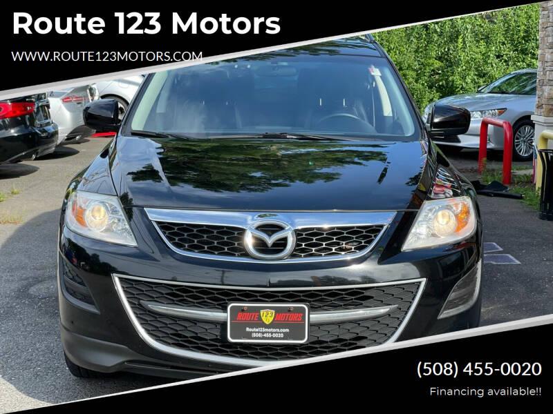 2012 Mazda CX-9 for sale at Route 123 Motors in Norton MA