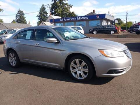 2013 Chrysler 200 for sale at All American Motors in Tacoma WA