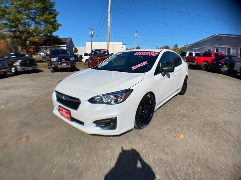 2019 Subaru Impreza for sale at AutoMile Motors in Saco ME