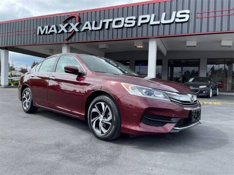 2016 Honda Accord for sale at Maxx Autos Plus in Puyallup WA