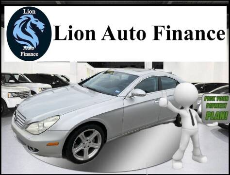 2007 Mercedes-Benz CLS for sale at Lion Auto Finance in Houston TX