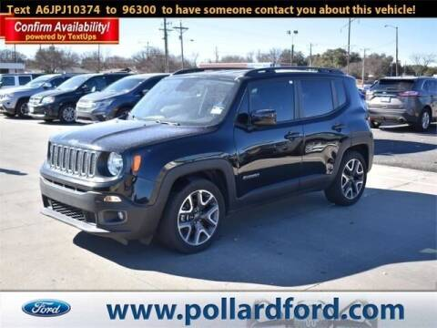 2018 Jeep Renegade for sale at South Plains Autoplex by RANDY BUCHANAN in Lubbock TX