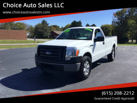 2011 Ford F-150 for sale at Choice Auto Sales LLC - Buy Here Pay Here in White House TN