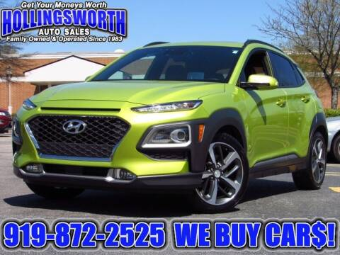 2018 Hyundai Kona for sale at Hollingsworth Auto Sales in Raleigh NC