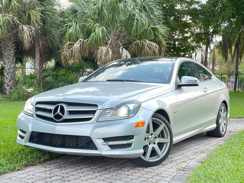 2012 Mercedes-Benz C-Class for sale at Citywide Auto Group LLC in Pompano Beach FL