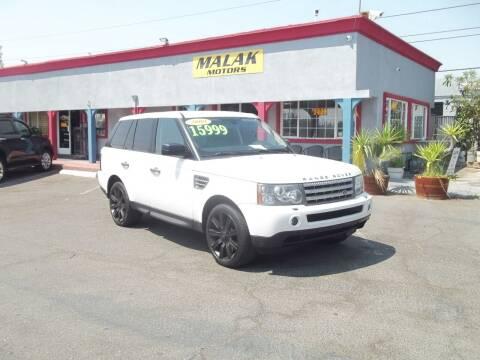 2009 Land Rover Range Rover Sport for sale at Atayas Motors INC #1 in Sacramento CA