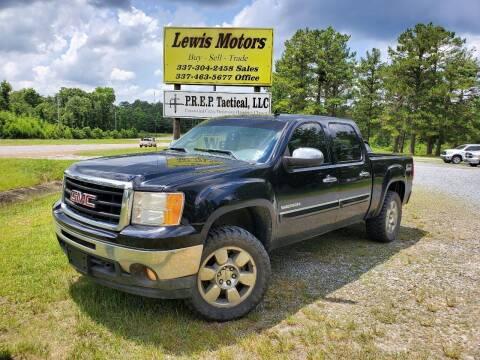 2011 GMC Sierra 1500 for sale at Lewis Motors LLC in Deridder LA