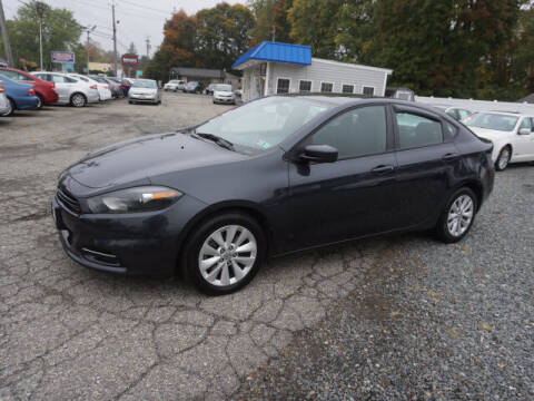 2014 Dodge Dart for sale at Colonial Motors in Mine Hill NJ