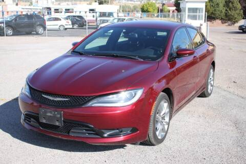 2015 Chrysler 200 for sale at Motor City Idaho in Pocatello ID