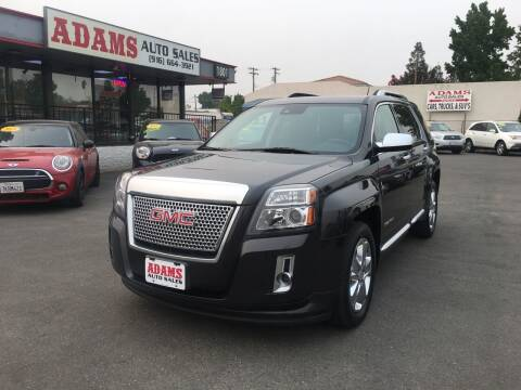 2015 GMC Terrain for sale at Adams Auto Sales in Sacramento CA