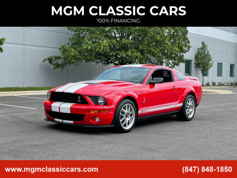 2007 Ford Mustang for sale at MGM CLASSIC CARS in Addison IL