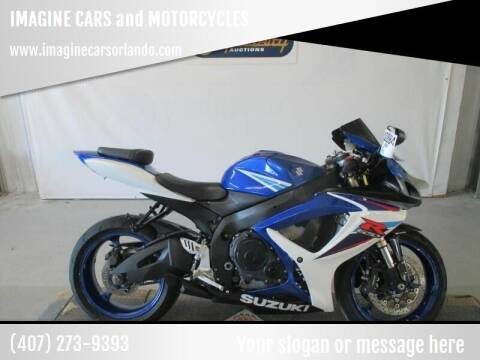 2006 Suzuki GSX-R600 for sale at IMAGINE CARS and MOTORCYCLES in Orlando FL
