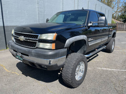 2006 Chevrolet Silverado 2500HD for sale at APX Auto Brokers in Lynnwood WA