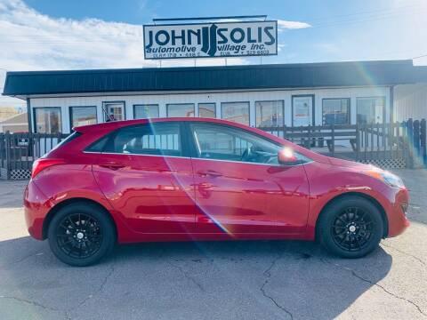 2017 Hyundai Elantra GT for sale at John Solis Automotive Village in Idaho Falls ID