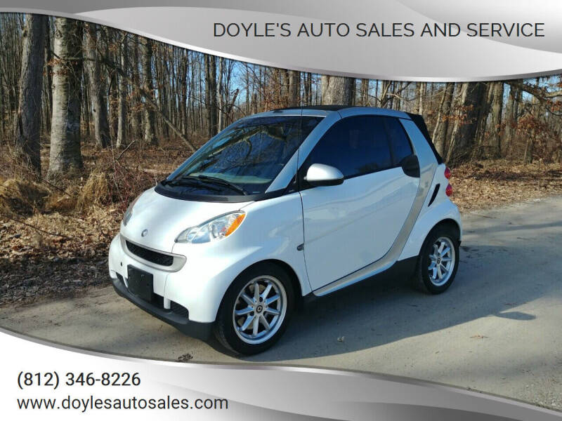 2010 Smart fortwo for sale at Doyle's Auto Sales and Service in North Vernon IN