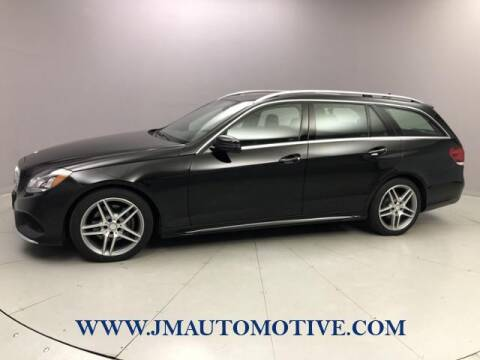 2014 Mercedes-Benz E-Class for sale at J & M Automotive in Naugatuck CT