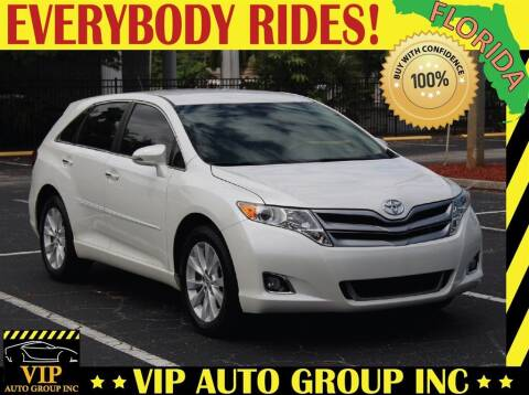 2013 Toyota Venza for sale at VIP Auto Group in Clearwater FL