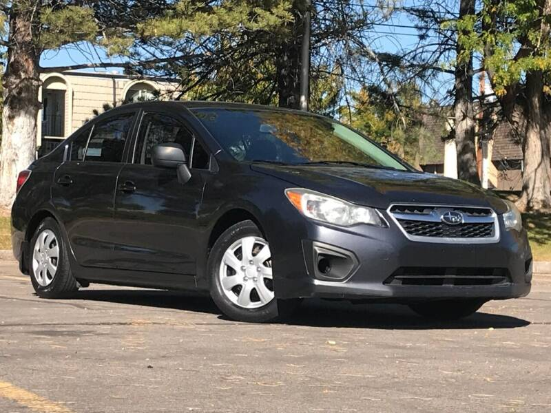 2012 Subaru Impreza for sale at Used Cars and Trucks For Less in Millcreek UT