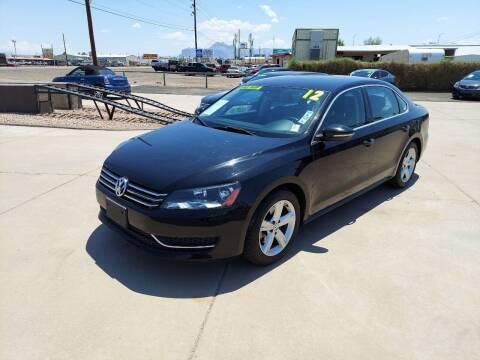 2012 Volkswagen Passat for sale at Century Auto Sales in Apache Junction AZ