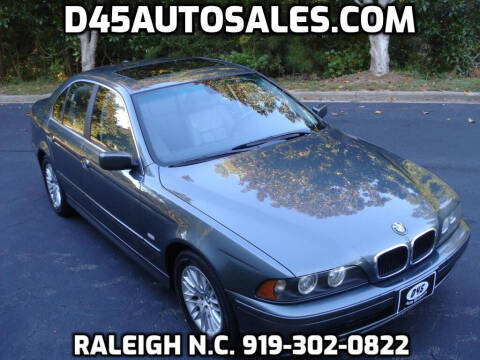 2003 BMW 5 Series for sale at D45 Auto Brokers in Raleigh NC