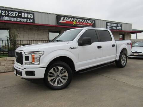 2018 Ford F-150 for sale at Lightning Motorsports in Grand Prairie TX