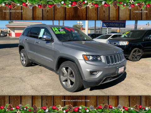 2014 Jeep Grand Cherokee for sale at Salas Auto Group in Indio CA