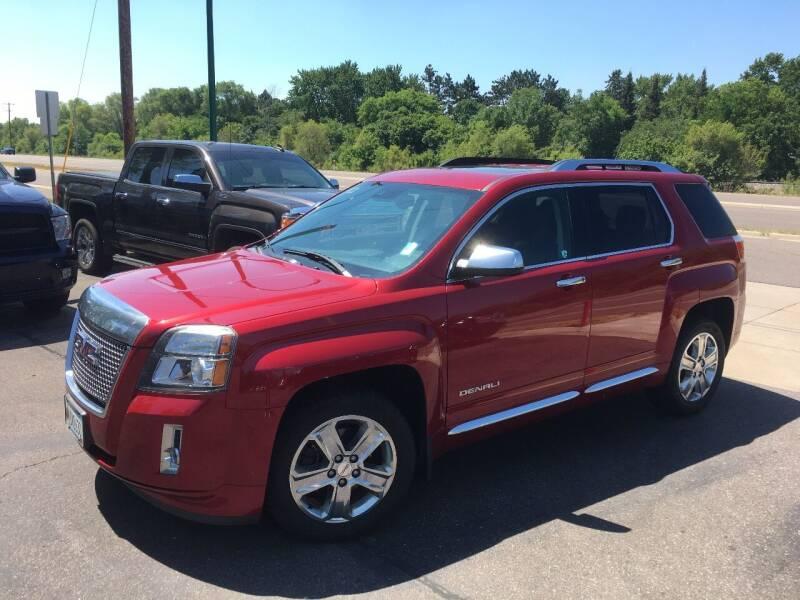 2013 GMC Terrain for sale at Premier Motors LLC in Crystal MN