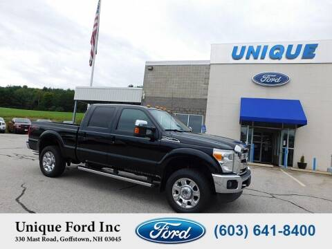 2016 Ford F-250 Super Duty for sale at Unique Motors of Chicopee - Unique Ford in Goffstown NH