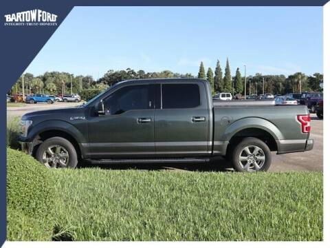2018 Ford F-150 for sale at BARTOW FORD CO. in Bartow FL