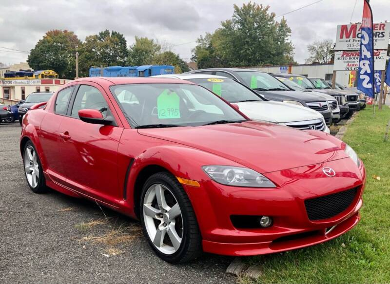 2004 Mazda RX-8 for sale at Mayer Motors of Pennsburg in Pennsburg PA