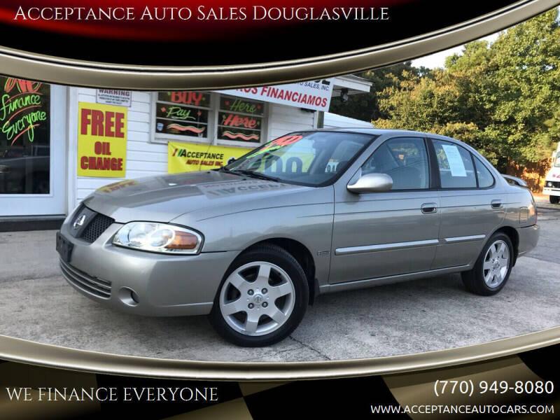 2005 Nissan Sentra for sale at Acceptance Auto Sales Douglasville in Douglasville GA