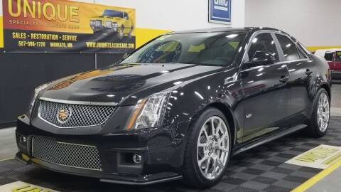 2012 Cadillac CTS-V for sale at UNIQUE SPECIALTY & CLASSICS in Mankato MN