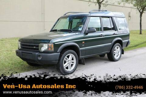 2003 Land Rover Discovery for sale at Ven-Usa Autosales Inc in Miami FL