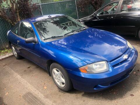2003 Chevrolet Cavalier for sale at Blue Line Auto Group in Portland OR