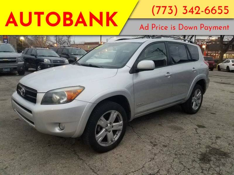 2007 Toyota RAV4 for sale at AutoBank in Chicago IL