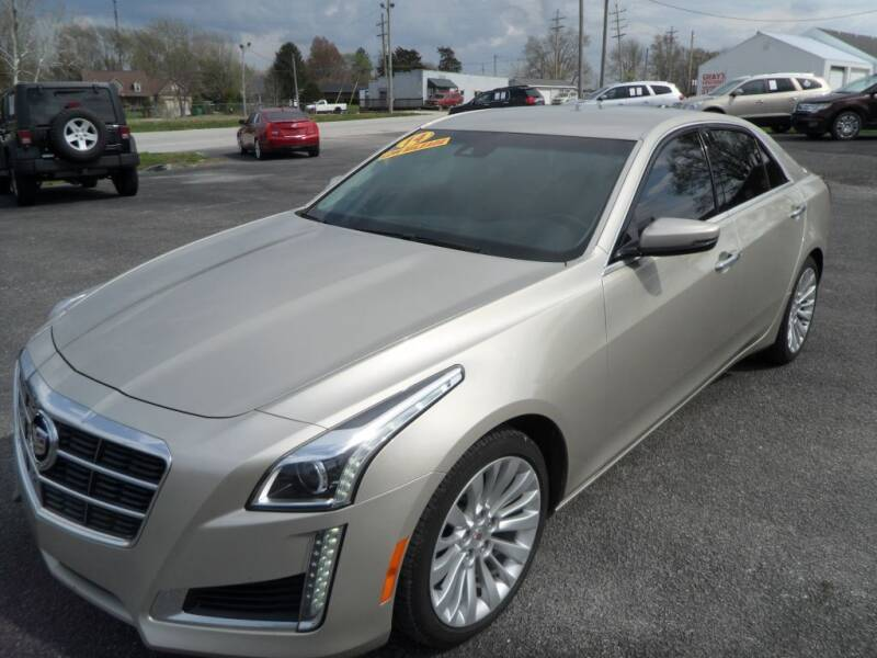 2014 Cadillac CTS for sale at CARSON MOTORS in Cloverdale IN