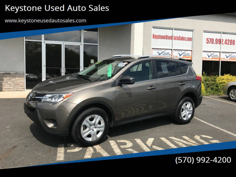 2015 Toyota RAV4 for sale at Keystone Used Auto Sales in Brodheadsville PA