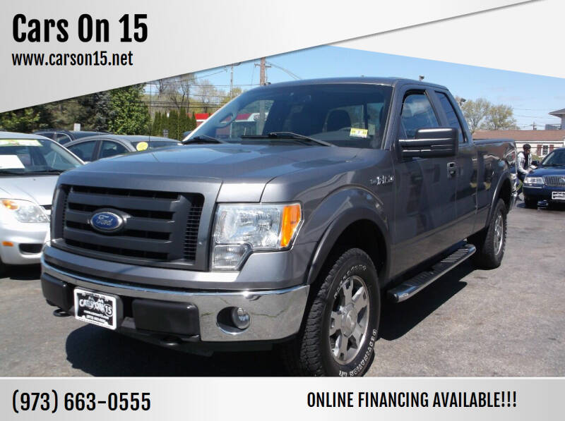 2010 Ford F-150 for sale at Cars On 15 in Lake Hopatcong NJ