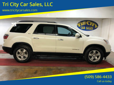 2008 GMC Acadia for sale at Tri City Car Sales, LLC in Kennewick WA