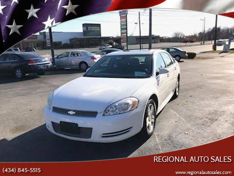 2013 Chevrolet Impala for sale at Regional Auto Sales in Madison Heights VA