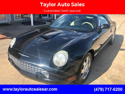 2005 Ford Thunderbird for sale at Taylor Auto Sales in Springdale AR